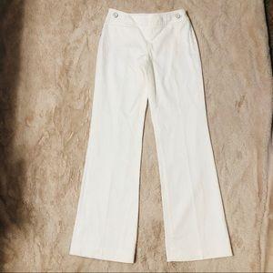 White House Black Market flare high rise jeans